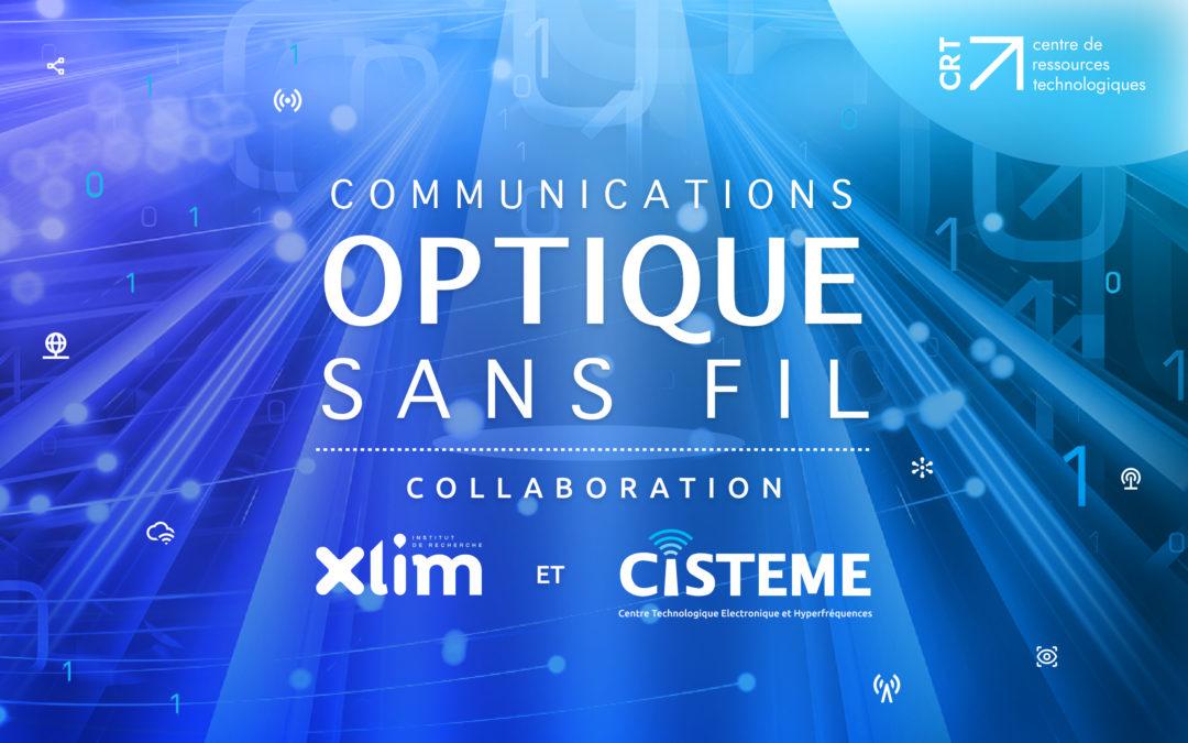 Collaboration XLIM – CISTEME sur la thématique de l'optique sans fil