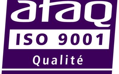 CISTEME certifié ISO 9001